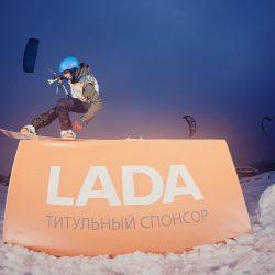 LADA стала партнером Чемпионата мира по зимним видам парусного спорта WISSA-2017