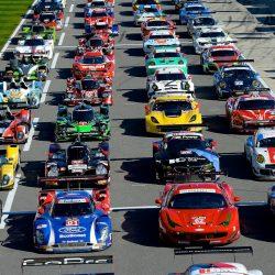 Гонка 24 часа Daytona за 8 минут