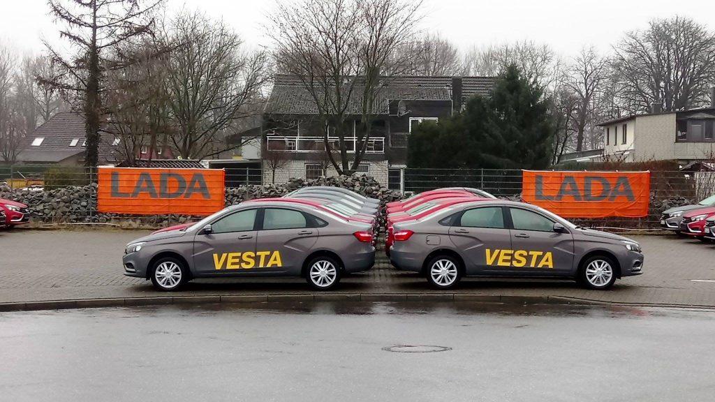Lada Vesta в Германии