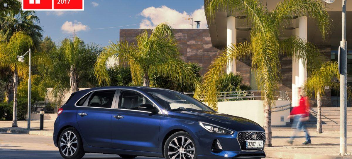 Hyundai i30 признан лучшим в дизайне