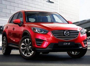 Mazda CX-5 популярна у россиян