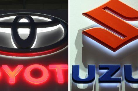 Suzuki и Toyota подписали соглашение о партнерстве