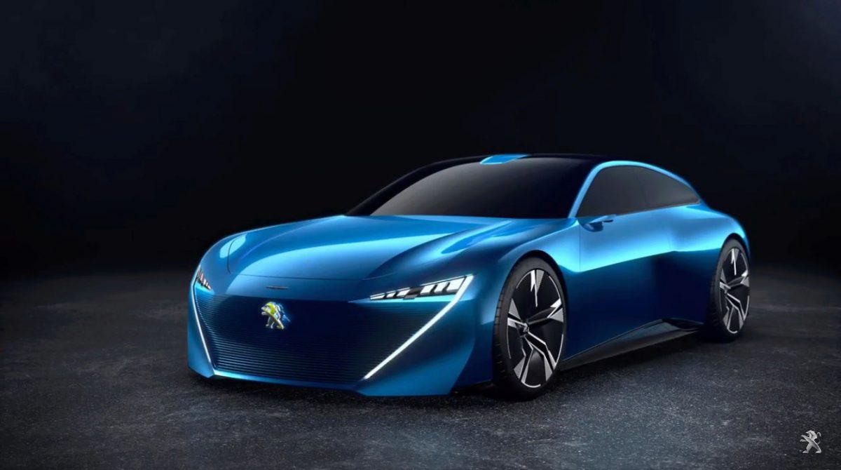 В сеть попала фотография концепта Peugeot Instinct — будущей звезды Женевы
