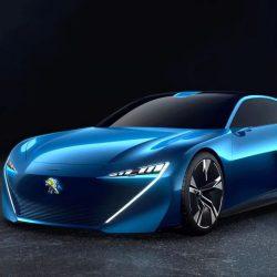 В сеть попала фотография концепта Peugeot Instinct – будущей звезды Женевы