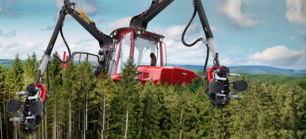 То, что делает жизнь легче — Пилорама. Необычные лесные тракторы и тягачи, пилы и огромные клешни.