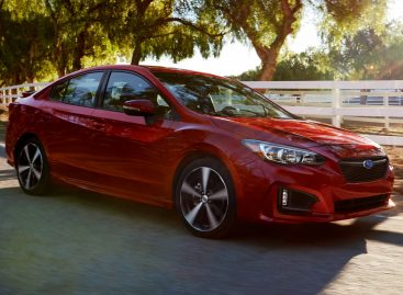 Новая Subaru Impreza заработала высший рейтинг в краш-тестах IIHS