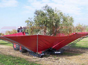 Приспособление для сбора орехов, оливок и маслин – телескопический вибратор с зонтом