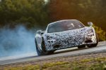 Новый суперкар McLaren P14 вышел на публику боком