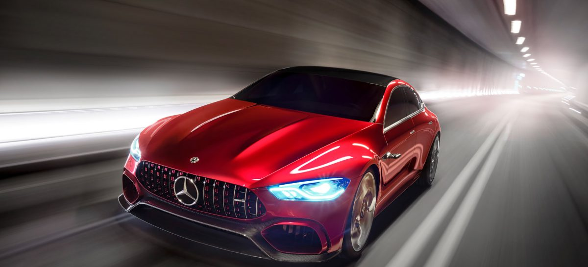 Концепт-кар Mercedes-AMG GT Concept