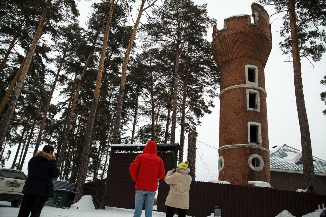 Водонапорная башня купца Горохова Бердск