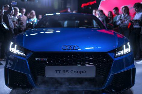 Audi TT RS Coupé – российская премьера
