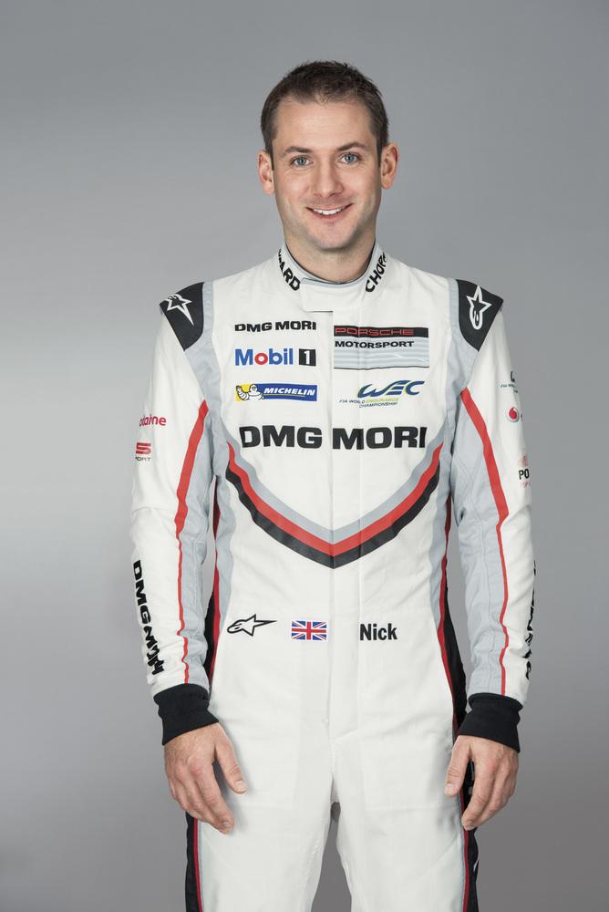 Nick Tandy, Porsche-Werksfahrer LMP1