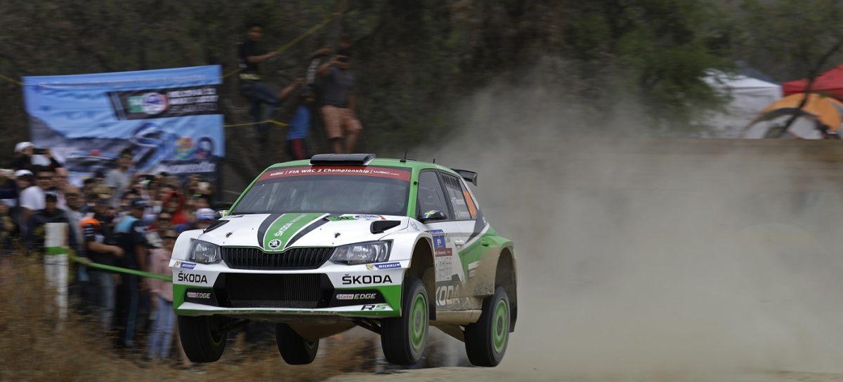 ŠKODA FABIA R5 подтвердила звание лучшего автомобиля WRC 2