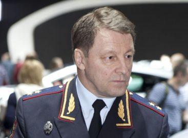 Путин снял Нилова с поста главы ГИБДД