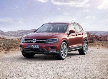Выпущено 5 миллионов Volkswagen Tiguan
