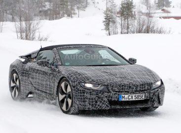 BMW выгнала прототип i8 Spyder на мороз