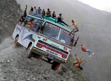 Топ самых страшных дорог мира