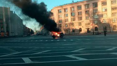 Лидера протестующих дальнобойщиков арестовали в Петербурге на две недели