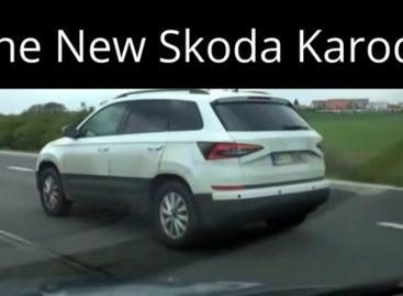 Новый кроссовер от Skoda показался на дороге