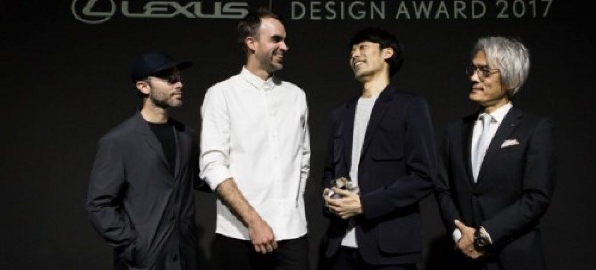 Хирото Йошизо стал победителем Lexus Design Award 2017