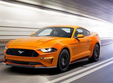 Ford Mustang стал самым продаваемым спорткаром в Европе