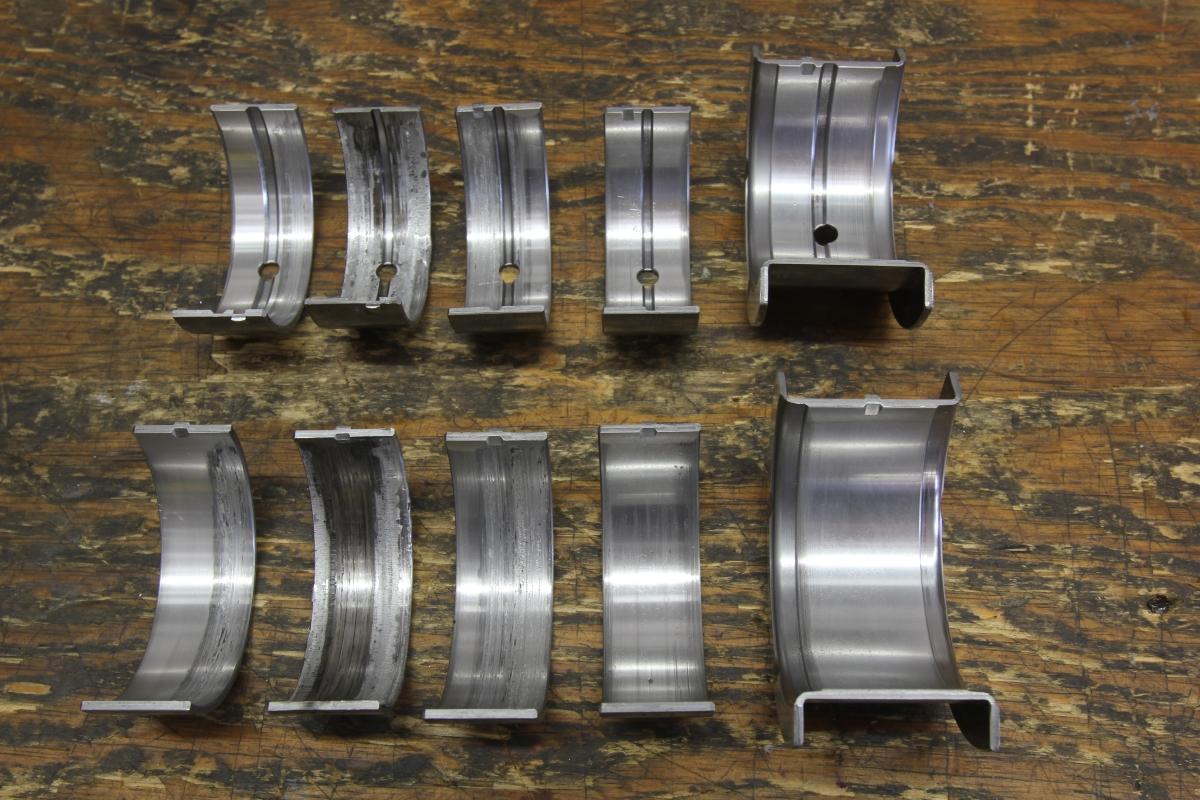 Worn Engine Bearings : Присадки в моторное масло Сергей Асланян