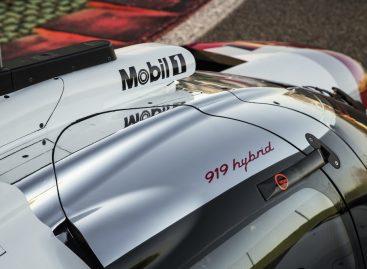 919 Hybrid на гоночной трассе в Монце