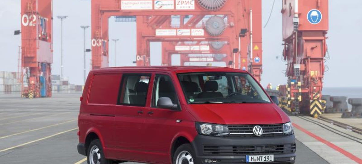 Volkswagen Transporter удостоен звания Green Van of the Year 2017