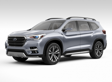 Дебют Subaru Ascent в Лос-Анджелесе
