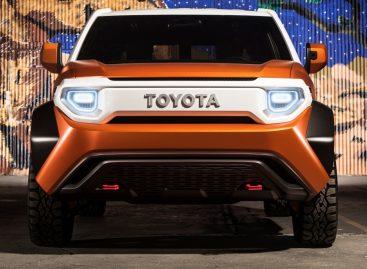 Toyota представила революционный концепт-кар Toyota FT-4X Concept