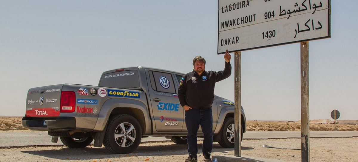 Volkswagen Amarok V6 к мировому рекорду готов!