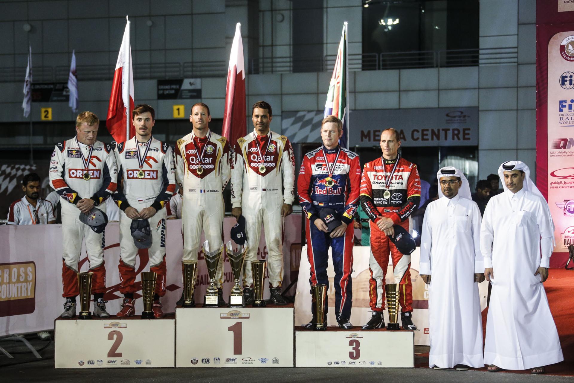 Победители Qatar Sealine rally