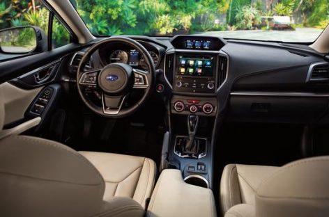 Интерьер Subaru лучший