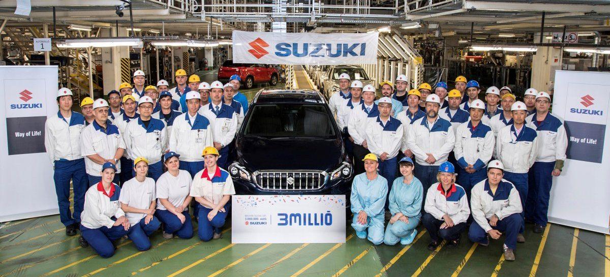 Suzuki выпустила в Европе трёхмиллионый автомобиль