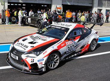 Lexus RC примет участие в 45-й гонке на выносливость «24 часа Нюрбургринга»