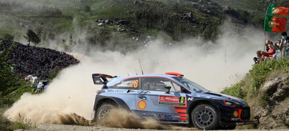 Hyundai Motorsport празднует двойной подиум на ралли Португалии