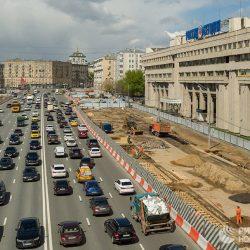 Водителям рекомендуют не пользоваться улицами в центре Москвы