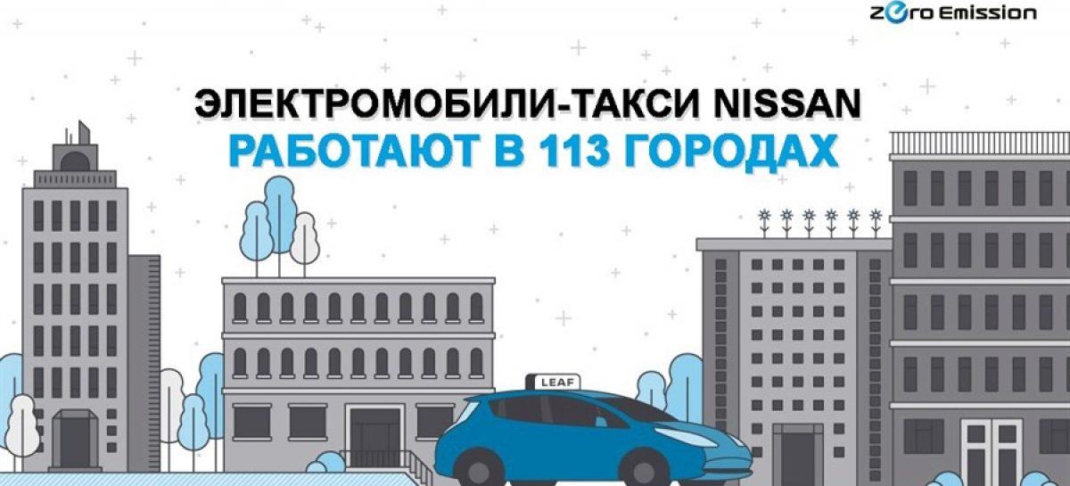 Такси с нулевым выбросом