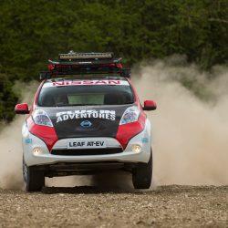 Nissan LEAF впервые участвует в Mongol Rally