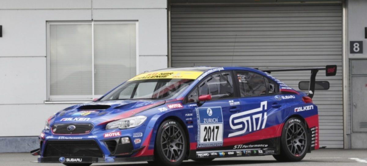 Subaru в 10й раз примет участие в гонке «24 часа Нюрбургринга»