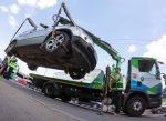 В Серпухове эвакуировали машину с восьмилетним ребенком