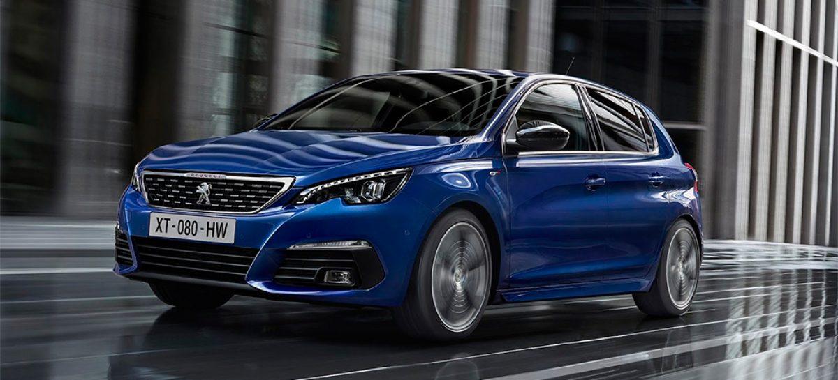 Peugeot обновляет хэтчбек 308