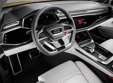 Audi Q8: премьера в России в начале 2018 года