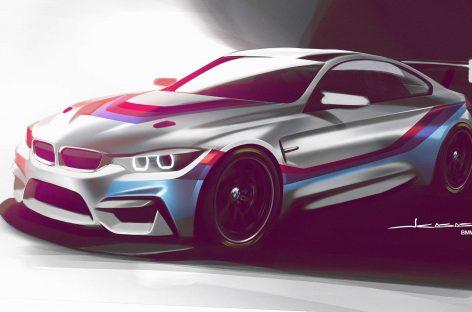 Купе BMW M4 GT4 представили публике