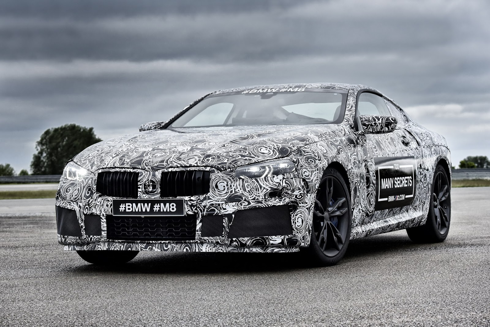 BMW M8 Prototype 2017