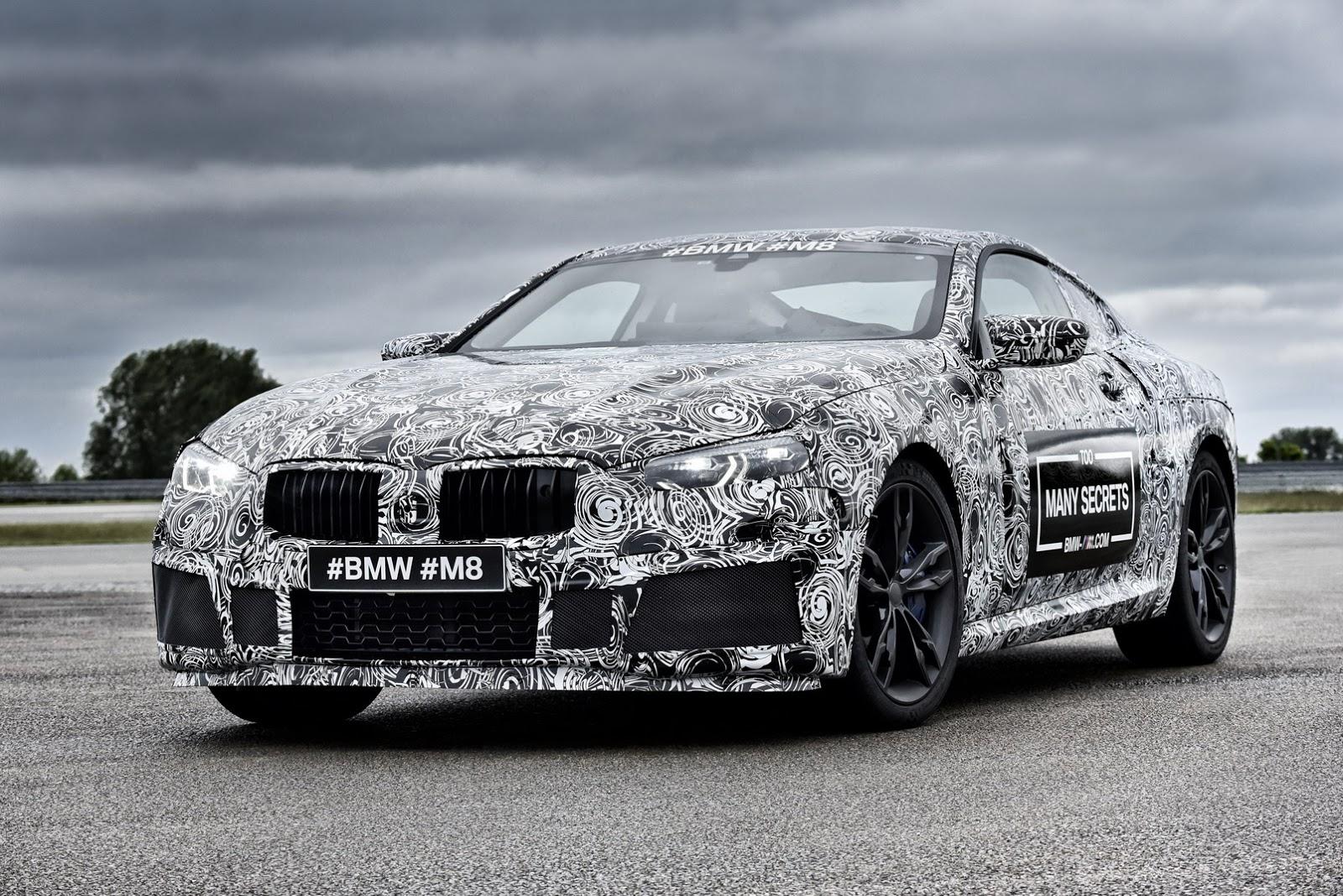 BMW M8 Prototype 2017