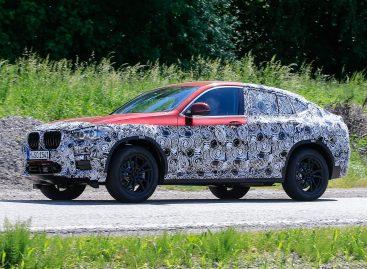 BMW тестирует X4 второго поколения