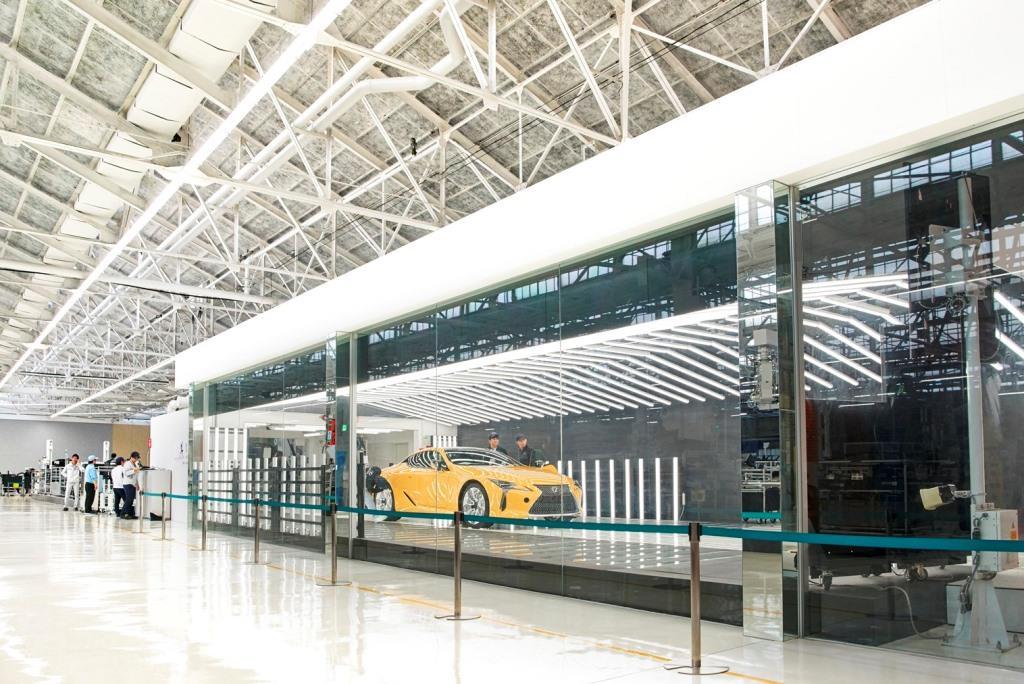 Производство Lexus LC