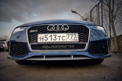 Восторг, аплодисменты – Audi RS7 Performance