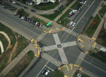 Новые пешеходные переходы в Москве